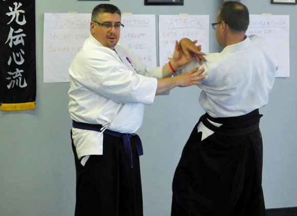 Training with Shihan Hoggart