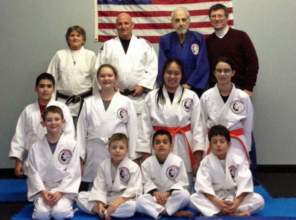 Sensei Bill Kamataris and World Masters Judo Champion Diana Wiesbach
