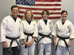 Jujitsu and Karate Black Belts