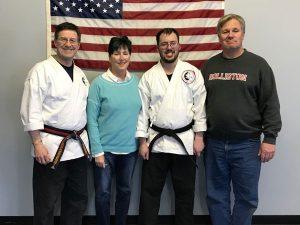 """Goju ryu Karate 1st Degree Black Belt Nick """"Bags"""" Bagley"""