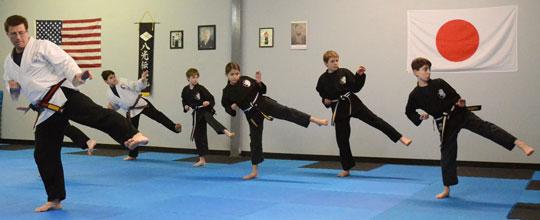 Kids Karate Classes in Holliston, MA