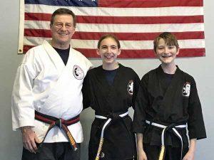 Jujitsu and Karate Black Belts Holliston, MA