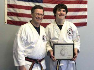 Goju ryu Karate Junior 3rd Degree Black Belt Danny