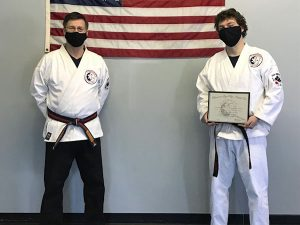 Goju Ryu Karate 2nd Degree Black Belt Mike Kozak
