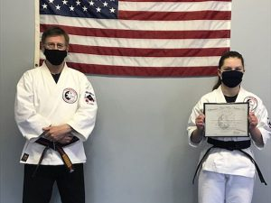 Goju Ryu Karate 1st Degree Black Belt Sara Buckley