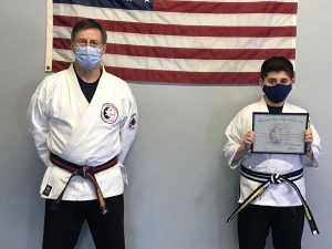 Goju Ryu Karate Junior 1st Degree Black Belt George Savvides