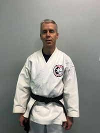 Sensei  Tim Boothroyd